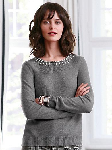 include - Rundhalsad tröja i 100% kashmir