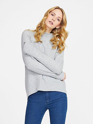 include - Stehkragen-Pullover aus 100% PREMIUM Kaschmir