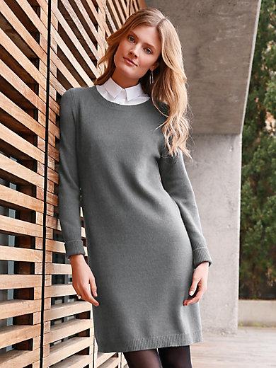 include - Stickad klänning i 100% kashmir