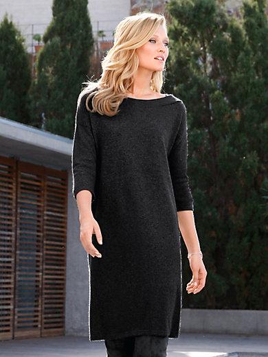 include - Stickad klänning i ren kashmir