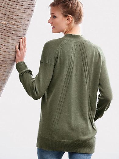 include - V-neck pullover in Pure cashmere in premium qualit