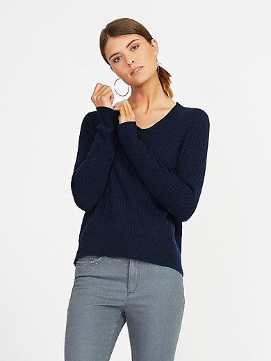include - V-ringad tröja i 100% kashmir i Premium-kvalitet