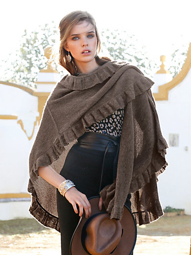 Inkadoro - Cape in 100% alpaca