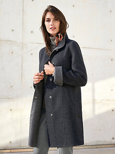 Inkadoro - Jacket in a flattering swing style