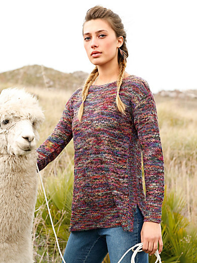 Inkadoro - Long jumper in 100% alpaca
