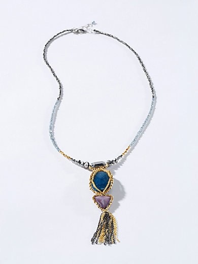 Necklace Inkadoro blue Inkadoro