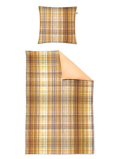 Irisette - Bettwäsche-Garnitur aus Satin, ca. 135x200cm