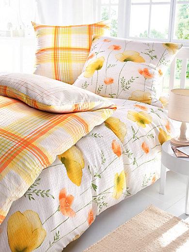 irisette bettw sche garnitur ca 155x200cm ca 80x80cm melba. Black Bedroom Furniture Sets. Home Design Ideas
