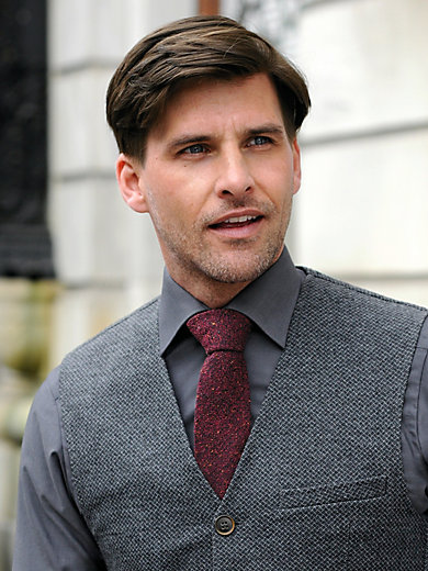 J.Ploenes - La cravate en soie et laine