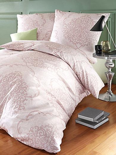 janine bettw sche garnitur ca 135x200cm beige. Black Bedroom Furniture Sets. Home Design Ideas