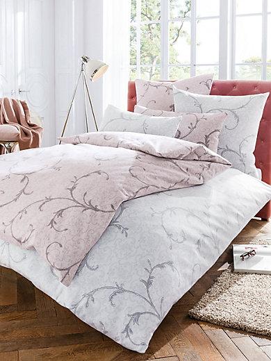 janine bettw sche garnitur ca 135x200cm hellgrau. Black Bedroom Furniture Sets. Home Design Ideas