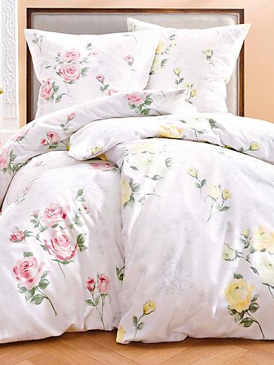 janine bettw sche garnitur ca 135x200cm ros. Black Bedroom Furniture Sets. Home Design Ideas