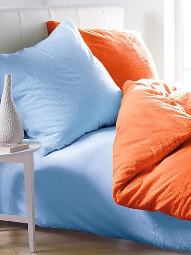 Janine - Soft-Seersucker-Bettgarnitur, ca. 135x200cm