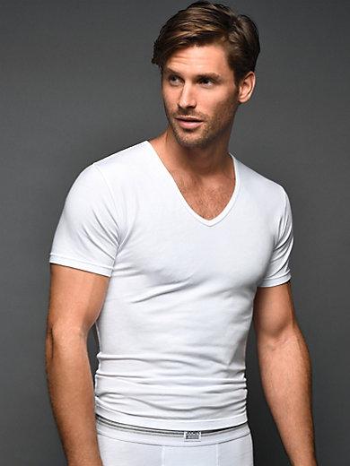 Jockey v neck t shirt pack of 2 white for Jockey v neck shirt