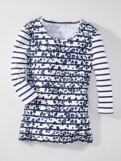 Joy - Rundhals-Shirt Modell Zina mit 3/4-Arm