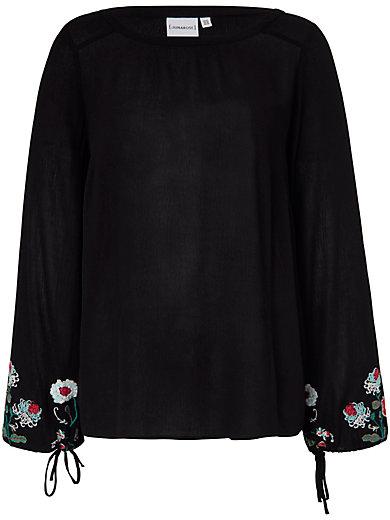 JUNAROSE - Bluse mit Rundhals-Ausschnitt
