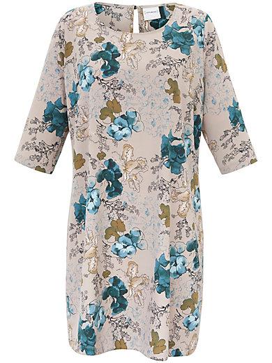 JUNAROSE - Kleid in A-Form mit edlem Blumen-Print
