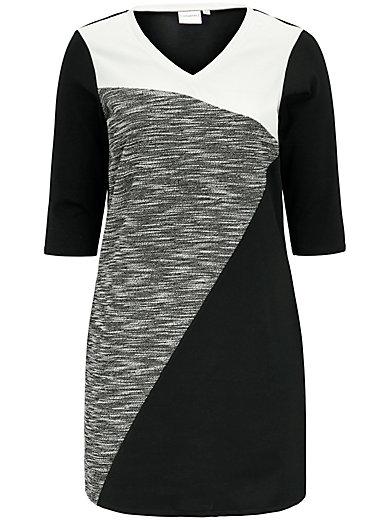 JUNAROSE - Kleid mit V-Ausschnitt