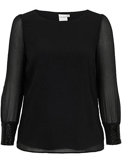JUNAROSE - Schlupf-Bluse mit feiner Transparenz