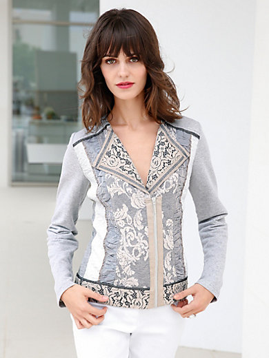 Just White - Blouse jacket