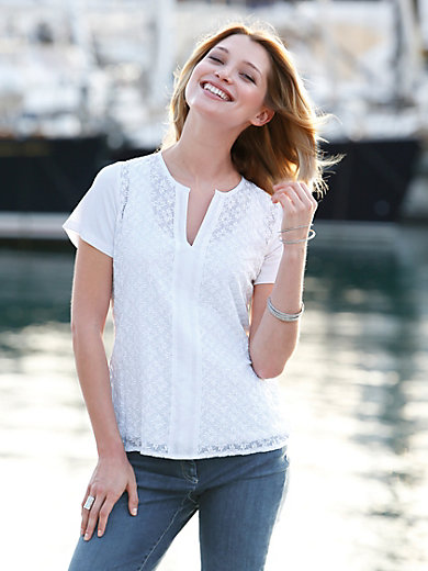 Just White - Blouse top