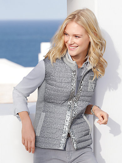 Just White - Quilted gilet