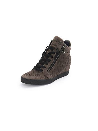 Kennel & Schmenger - Les sneakers montants Soho en cuir velours
