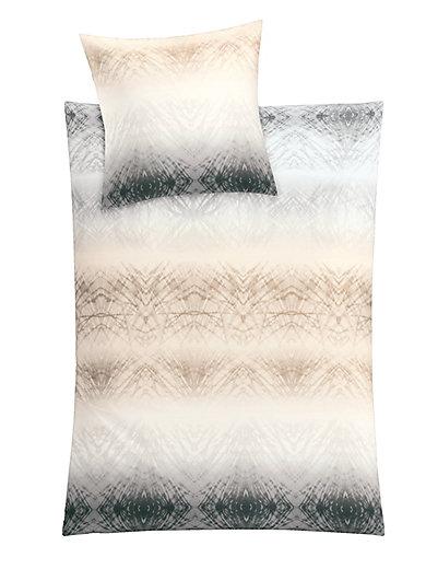 Kleine Wolke - Bettwäsche-Garnitur aus Mako-Satin, ca. 135x200cm