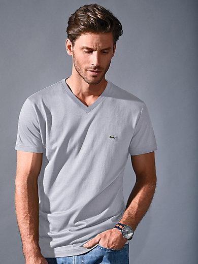 Lacoste - Kortærmet V-shirt og korte ærmer