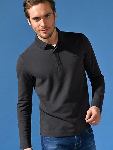 707ab4ca84 Lacoste - Le polo manches longues - noir