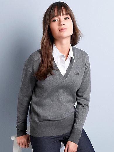 Lacoste - Le pull 100% coton