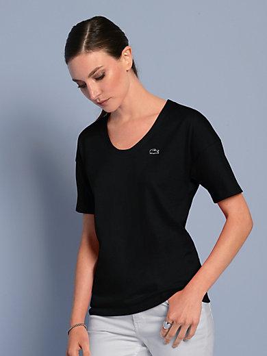 T Jersey De Coton Pur Noir Le Lacoste En Shirt 504FXIq