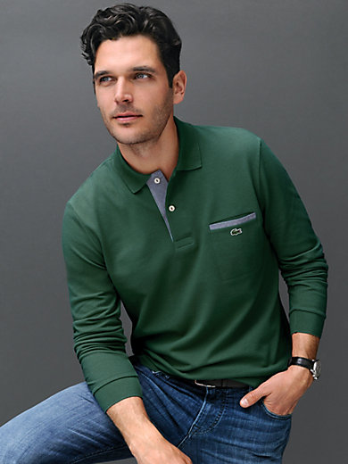 "Lacoste - Long-sleeved ""Form PH0118"" polo shirt"