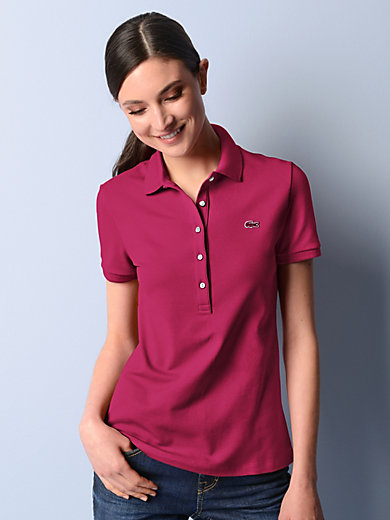 Lacoste - Polo-Shirt mit 1/4-Arm