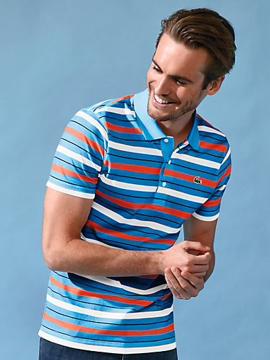 ea8e8801977 Lacoste - Polo shirt YH3287 - denim blue/red