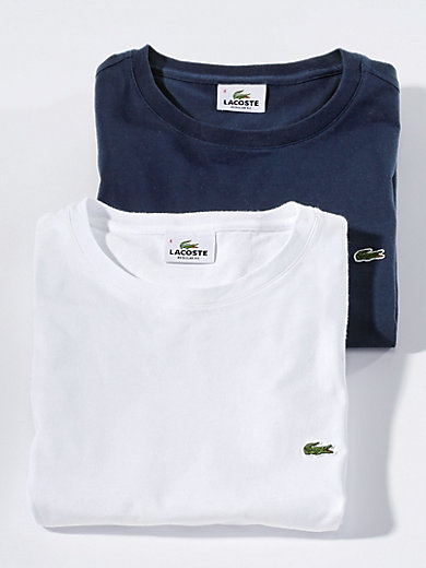 Lacoste - Rundhals-Shirt mit 1/2-Arm