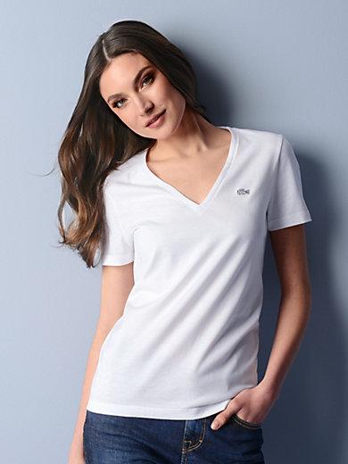 Lacoste - Shirt met V-hals en korte mouwen