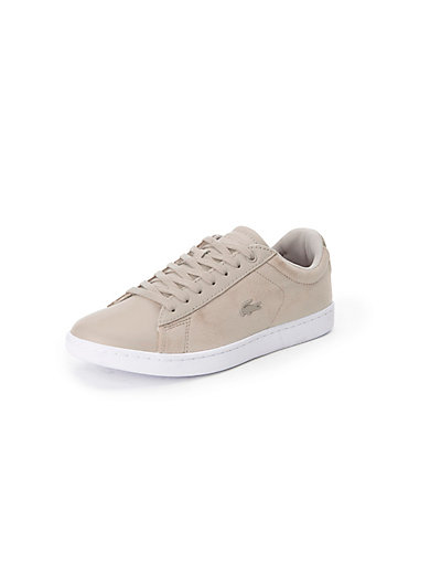 b3238c187f71 Lacoste - Sneakers Carnaby Evo in 100% leather - light beige