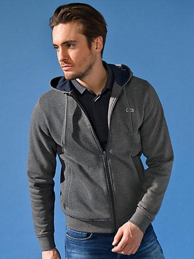 Lacoste - Sweat-Jacke mit Kapuze