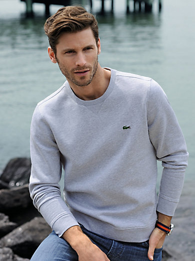 Lacoste - Sweat top with a round neckline
