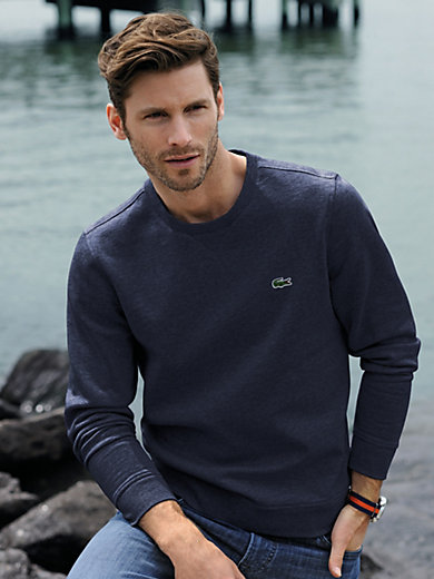 Lacoste - Sweatshirt med rund halsudskæring