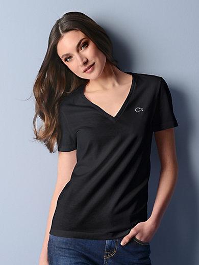 Lacoste - V Shirt mit 1/4 Arm und in gerader Form