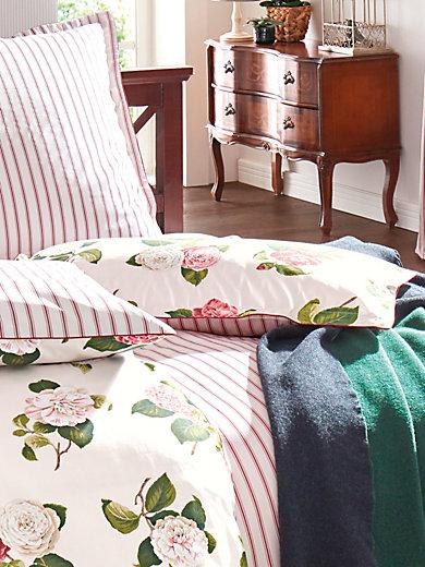 Laura Ashley - Satin-Kissenbezug ca. 40x80 cm
