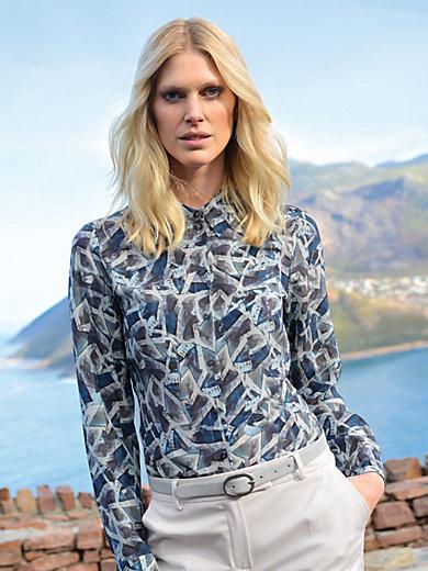 Laura Biagiotti Donna - Bluse aus 100% Seide mit 1/1 Arm