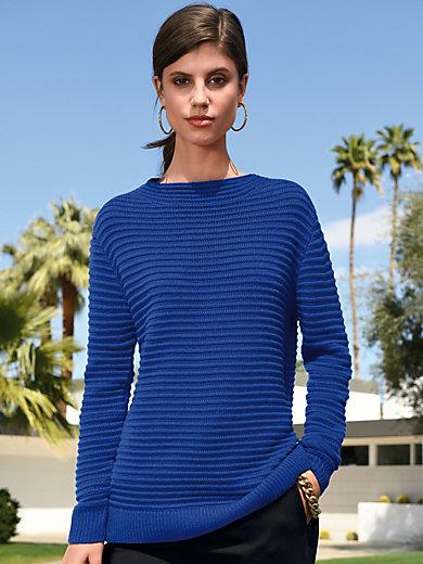 Laura Biagiotti Donna - Boat neck jumper in 100% cashmere