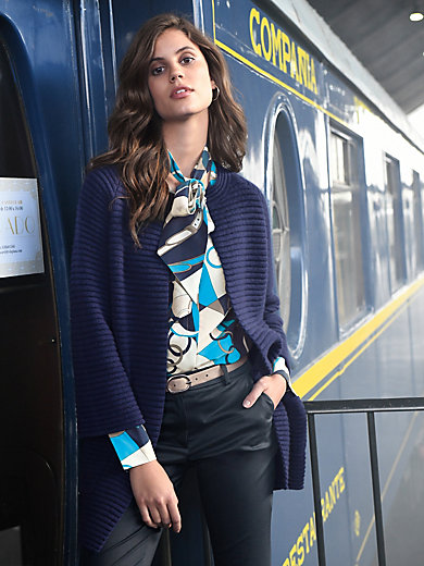 Laura Biagiotti Donna - Cardigan in 100% cashmere with 7/8-length sleeves