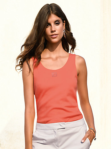 Laura Biagiotti Donna - Jersey top with wide straps