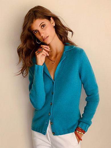 Laura Biagiotti Donna - Knitted blazer in 100% cashmere