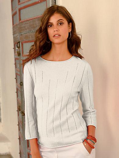 Laura Biagiotti Donna - Round neck jumper in 100% cashmere