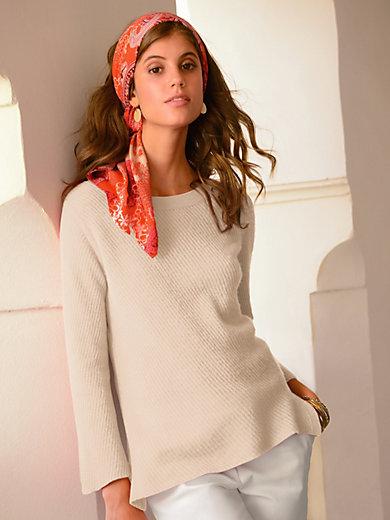 Laura Biagiotti Donna - Rundhals-Pullover aus 100% PREMIUM Kaschmir